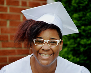 A cap and gown for graduation, one of many things the FAMILY Fund can provide.