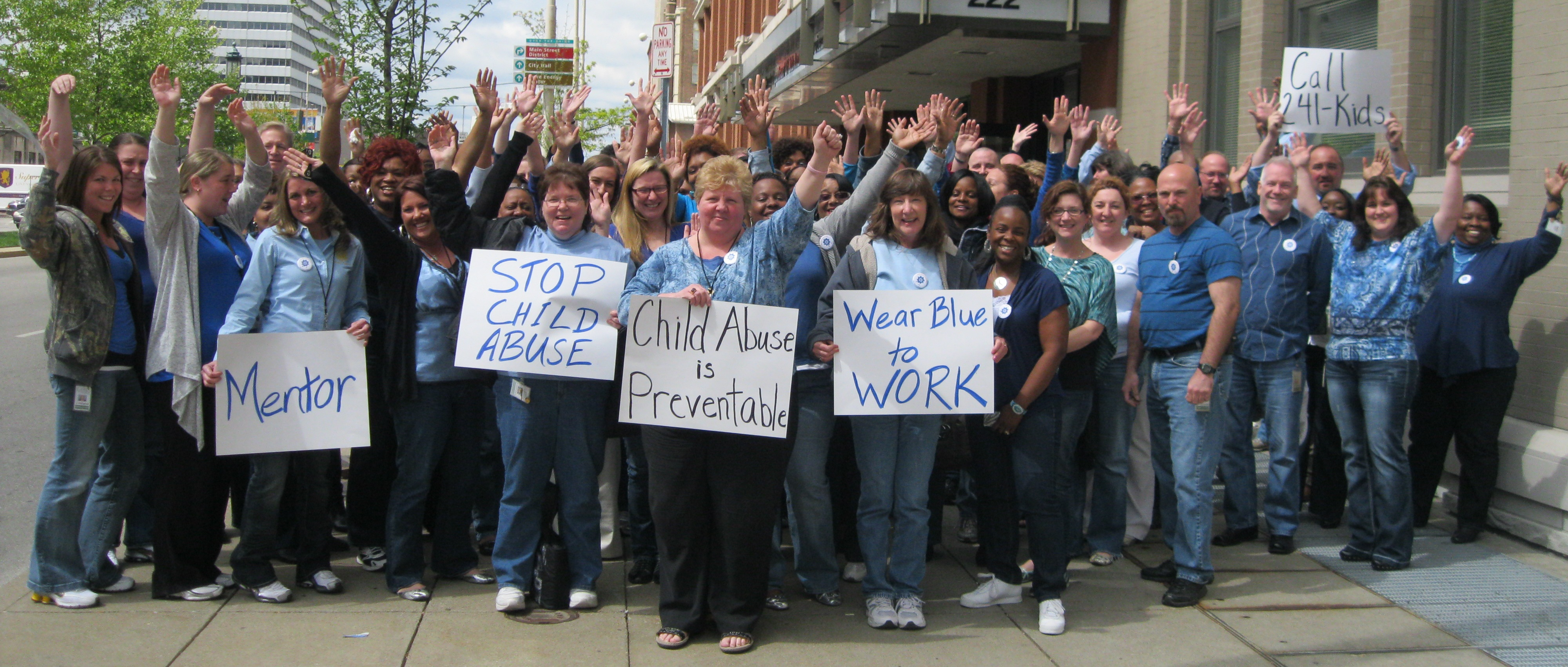 Wear Blue to Work Day 2012